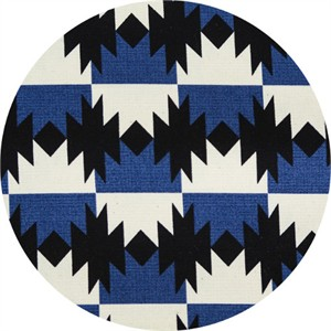 Japanese Import, OXFORD, Native Checkers Deep Blue