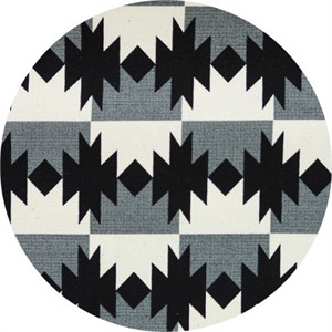 Japanese Import, OXFORD, Native Checkers Grey