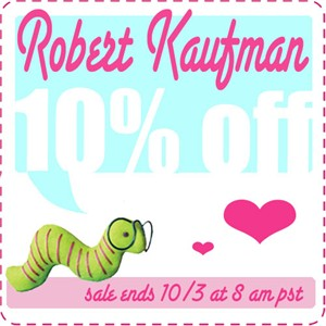 10% Off Robert Kaufman Fabrics