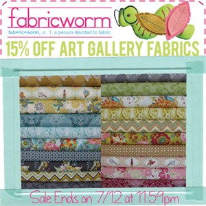 15% Off Art Gallery Fabrics!