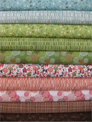 Adrienne Looman, Deerfield, Entire Collection in FAT QUARTERS 10 Total