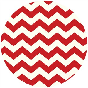 Adornit, Owls, Chevron Cherry Red