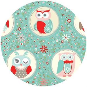 Adornit, Owls, Polka Dot Coral