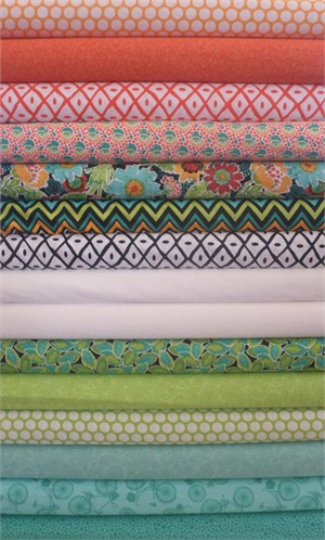 A.E. Nathan Co., Quiltology in FAT QUARTERS 14 Total