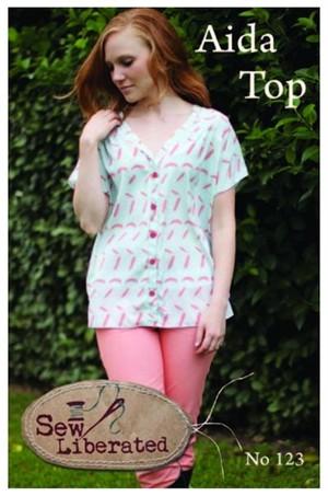 Sew Liberated, Sewing Pattern, Aida Top