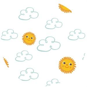 Allison Cole, Happy Jungle, Happy Skies White