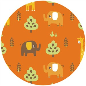 Allison Cole, Happy Jungle, Jungle Animals Orange