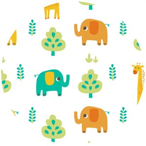 Allison Cole, Happy Jungle, Jungle Animals White