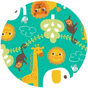 Allison Cole, Happy Jungle, Jungle Play Turquoise