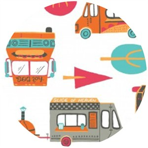 Allison Cole, Portland, Food Trucks White