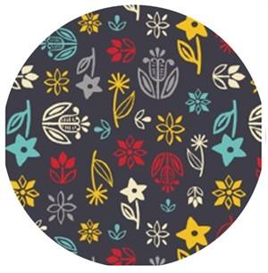 Allison Cole, What�s Cookin�, Floral Dark Grey