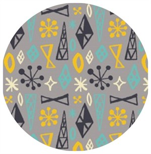 Allison Cole, What�s Cookin�, Retro Geo Grey