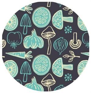 Allison Cole, What�s Cookin�, Veggies Dark Grey