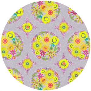 Alison Glass, Clover Sunshine, Circle Lilac