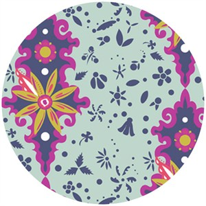 Alison Glass, Field Day, Flower Power Pale Blue