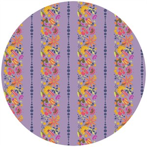 Alison Glass, Field Day, Flower Stripe Purple