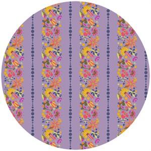Alison Glass, Field Day, Flower Stripe Purple