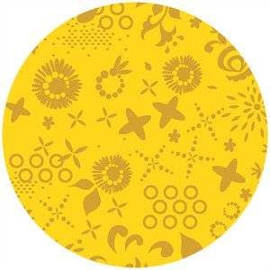 Alison Glass, Sun Print, Corsage Gold