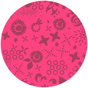 Alison Glass, Sun Print, Corsage Hot Pink