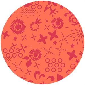 Alison Glass, Sun Print, Corsage Pumpkin