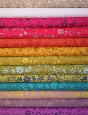Alison Glass, Sun Print, Corsage Sampler in FAT QUARTERS 13 Total