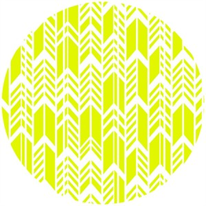 Alison Glass, Sun Print, Feathers Lime