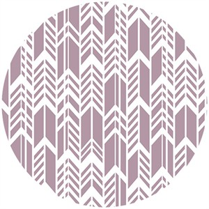 Alison Glass, Sun Print, Feathers Periwinkle