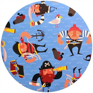 Alexander Henry, Ahoy Mateys, Captain Redbeard Blue