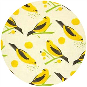Alexander Henry, Bird Seed Yellow (1/2 Yard)