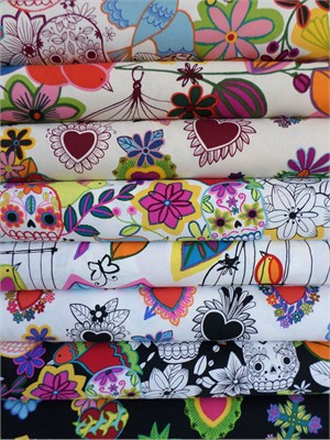 Alexander Henry, Folklorico, in FAT QUARTERS, 8 Total