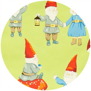 Alexander Henry, Gnome Sweet Gnome Light Green