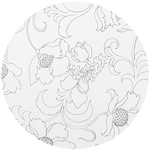 Alexander Henry, Gramercy Floral Black & White