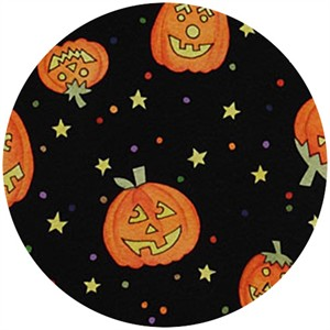 Alexander Henry, Haunted House, Booville Pumpkin Black