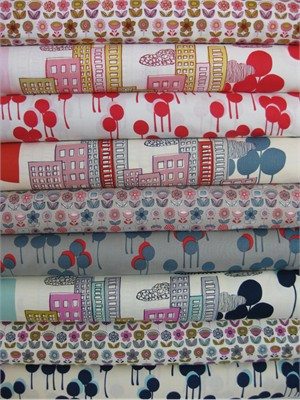 Alexander Henry, Mecca for Moderns, Entire Collection in FAT QUARTERS 9 Total
