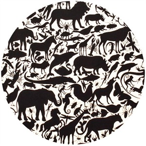 Alexander Henry, Nicole's Prints, Animal Kingdom Black/White