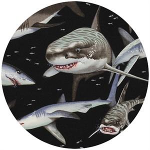 Alexander Henry, Nicoles's Prints, Shark! Black
