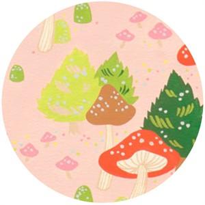 Alexander Henry, North Pole Mushroom Pink