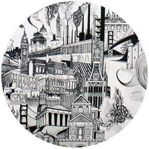 Alexander Henry, Smoke Stack City Black & White