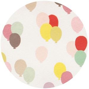 Alexander Henry, Toyland, Balloon Parade Cream/Pastel