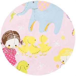 Alexander Henry, Toyland, Tinker Toyland Pink/Bright