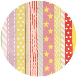 Alexander Henry, Toyland, Toyland Stripe Cream/Pastel