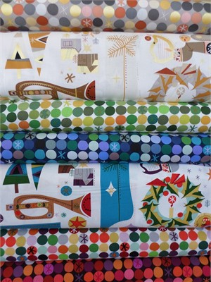 Alexander Henry, We Three Kings in FAT QUARTERS 7 Total