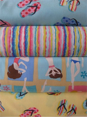 Alice Kennedy, Beach Babes in FAT QUARTERS, 4 Total