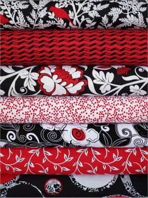 Alice Kennedy, Nouveau Rouge 7 FAT QUARTERS Total
