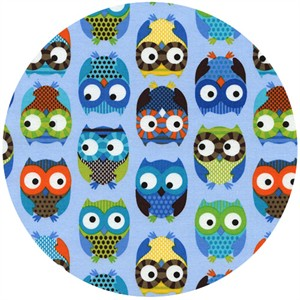 Alice Kennedy, Owls, Curious Owls Blue