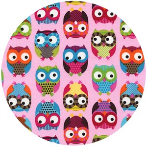 Alice Kennedy, Owls, Curious Owls Pink