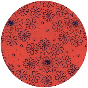 Alexia Marcelle Abegg for Cotton and Steel, Paper Bandana, Posy Poppy