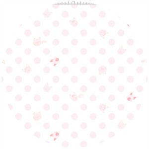 Alyssa Thomas, Here Kitty Kitty Organic, Kitty Dot Light Pink