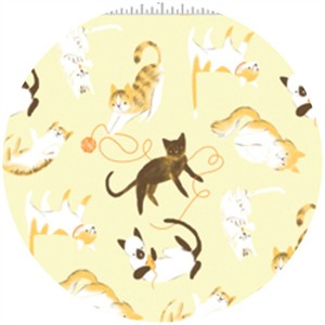 Alyssa Thomas, Here Kitty Kitty Organic, Kitty Playtime Yellow