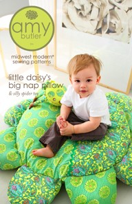 Amy Butler, Sewing Pattern, Little Daisy's Big Nap Pillow